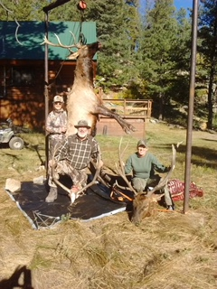 Elk Hunting Trophy