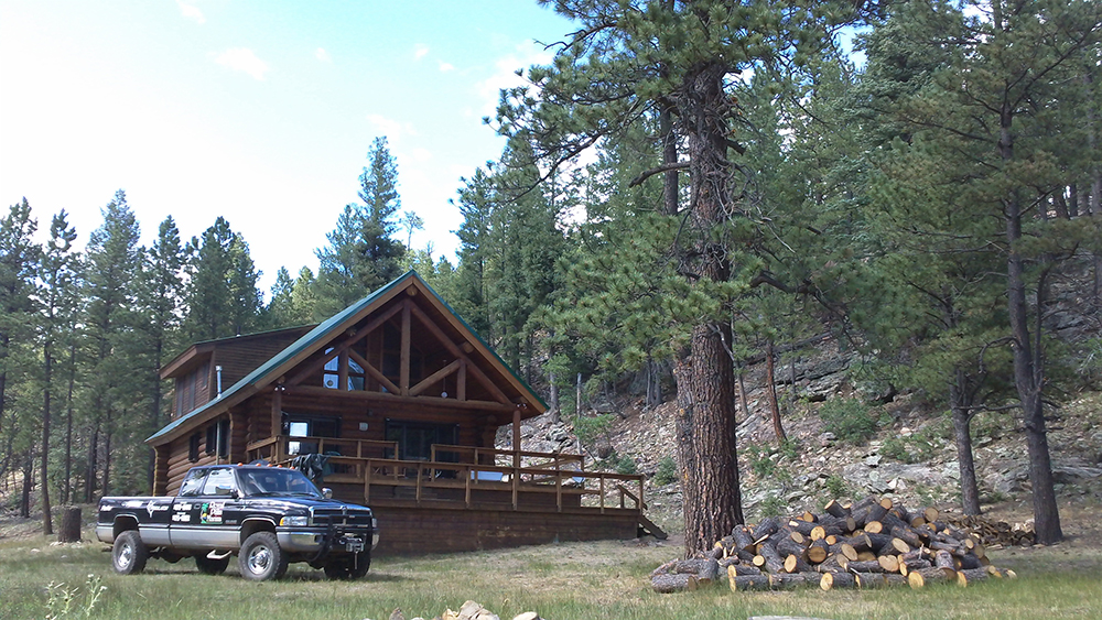 Clear Creek Ranch cabin New Mexico